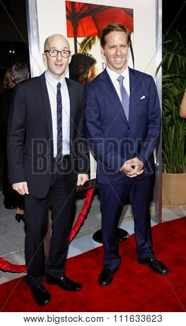 BEVERLY HILLS, CALIFORNIA - November 15, 2011. Jim Rash and Nat Faxon at the Los Angeles Premiere of