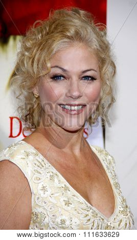 BEVERLY HILLS, CALIFORNIA - November 15, 2011. Patricia Hastie at the Los Angeles Premiere of