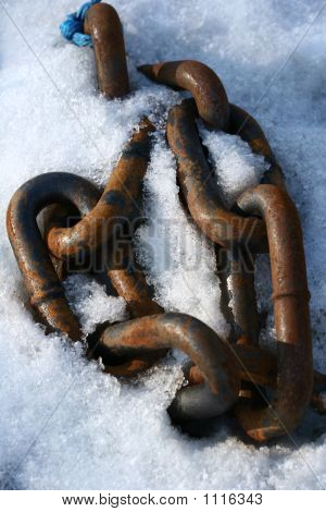 Chain On A Harbor