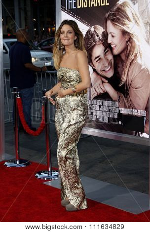Drew Barrymore at the Los Angeles Premiere of