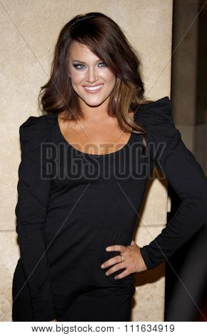 Lacey Schwimmer at the Dizzy Feet Foundation's Celebration of Dance held at the Kodak Theater in Hollywood, California, United States on November 29, 2009.