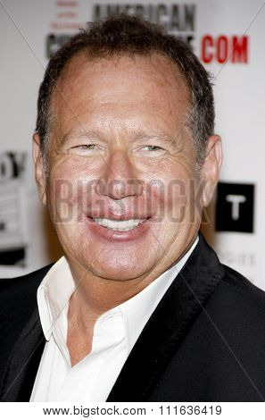 Garry Shandling at the 25th American Cinematheque Award Honoring Robert Downey Jr. held at the Beverly Hilton hotel in Beverly Hills, California, United States on October 14, 2011.