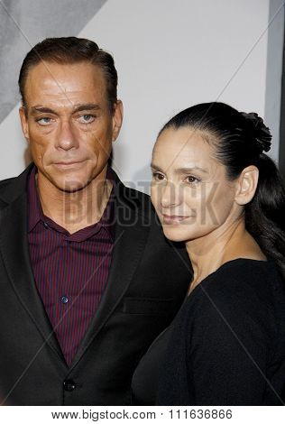 LOS ANGELES, CALIFORNIA - August 15, 2012. Jean-Claude Van Damme at the Los Angeles premiere of 'The Expendables 2' held at the Grauman's Chinese Theatre, Los Angeles.