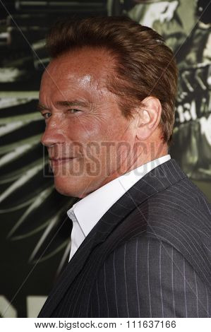 Arnold Schwarzenegger at the Los Angeles premiere of