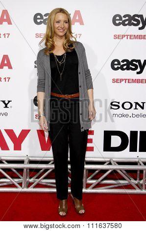 HOLLYWOOD, CALIFORNIA - September 13, 2010. Lisa Kudrow at the Los Angeles premiere of
