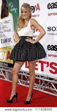 AJ Michalka at the Los Angeles Premiere of