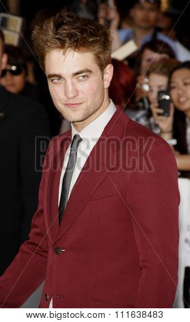 Robert Pattinson at the