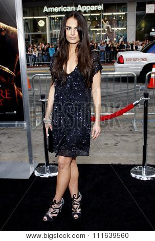 Jordana Brewster at the Los Angeles Premiere of