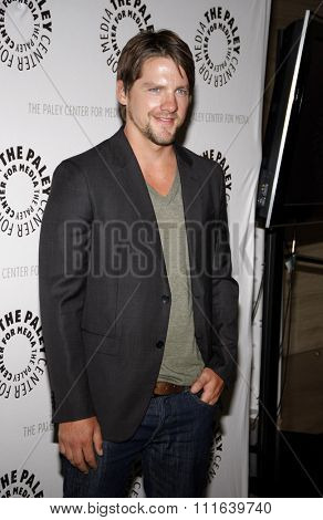 BEVERLY HILLS, CALIFORNIA - August 29, 2011. Zachary Knighton at the Paley Center For Media Presents An Evening With