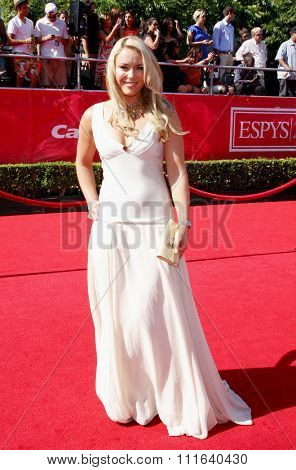 Lindsey Vonn at the 2012 ESPY Awards held at the Nokia Theatre L.A. Live in Los Angeles, USA on July 11, 2012.