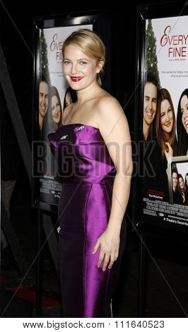 HOLLYWOOD, CALIFORNIA - November 3, 2009. Drew Barrymore at the AFI FEST 2009 Screening of