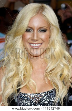 06/08/2009 - Hollywood - Heidi Montag at the Los Angeles Premiere of