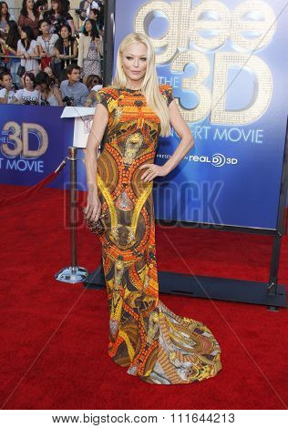WESTWOOD, CALIFORNIA - August 6, 2011. Charlotte Ross at the Los Angeles premiere of
