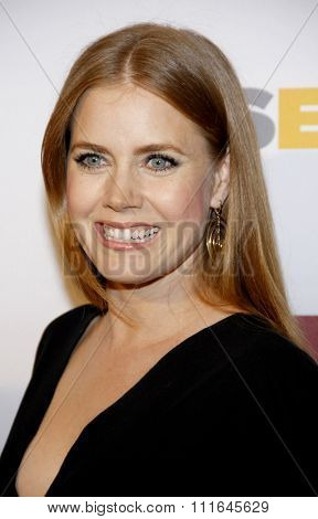 Amy Adams at the 8th Annual GLSEN Respect Awards held at the Beverly Hills Hotel in Los Angeles, United States on October 5, 2012.
