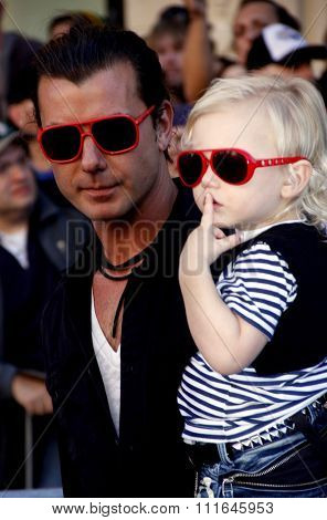 Gavin Rossdale at the Los Angeles Premiere of