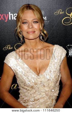 LOS ANGELES, CALIFORNIA - May 23, 2012. Jeri Ryan at the 37th Annual Gracie Awards Gala held at the Beverly Hilton Hotel, Los Angeles.
