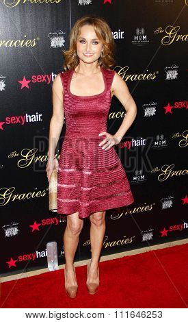 Giada de Laurentiis at the 37th Annual Gracie Awards Gala held at the Beverly Hilton Hotel in Los Angeles, California, United States on May 22, 2012.