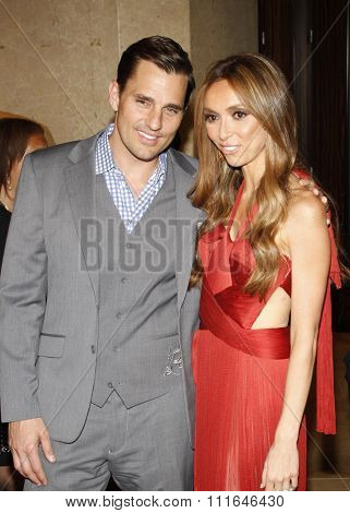 Bill Rancic and Giuliana Rancic at the 37th Annual Gracie Awards Gala held at the Beverly Hilton Hotel in Los Angeles, USA on May 23, 2012.