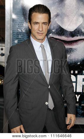 LOS ANGELES, CALIFORNIA - January 11, 2012. Dermot Mulroney at the Los Angeles premiere of