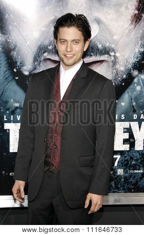 LOS ANGELES, CALIFORNIA - January 11, 2012. Jackson Rathbone at the Los Angeles premiere of