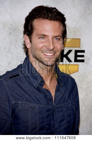 CULVER CITY, CALIFORNIA - June 5, 2010. Bradley Cooper at the 2010 Guys Choice Awards held at the Sony Pictures Studios, Culver City.