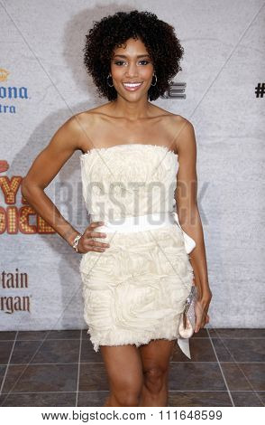Annie Ilonzeh at the Spike TV's 5th Annual 2011