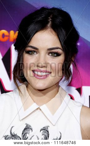 Lucy Hale at the 2012 TeenNick HALO Awards held at the Hollywood Palladium in Los Angeles, California, USA on November 17, 2012.