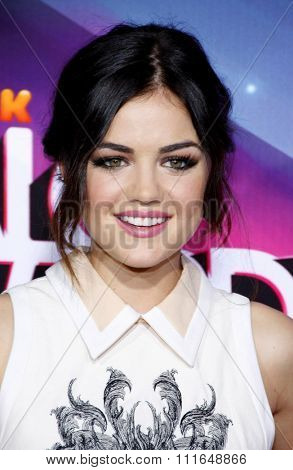 Lucy Hale at the 2012 TeenNick HALO Awards held at the Hollywood Palladium in Los Angeles, California, United States on November 17, 2012.