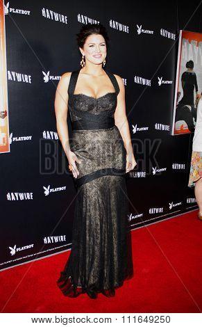 Gina Carano at the Los Angeles Premiere of
