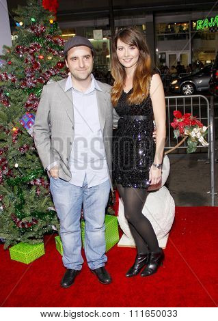 HOLLYWOOD, CALIFORNIA - November 2, 2011. David Krumholtz at the Los Angeles premiere of