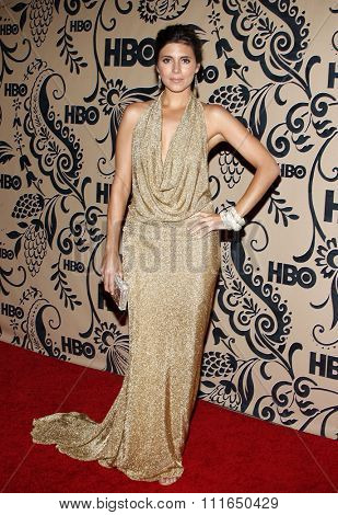 WEST HOLLYWOOD, CALIFORNIA - September 20, 2009. Jamie-Lynn Sigler at the HBO POST EMMY Party held at the Pacific Design Center, West Hollywood, Los Angeles.