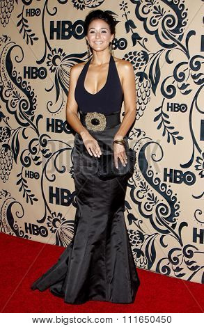 WEST HOLLYWOOD, CALIFORNIA - September 20, 2009. Emmanuelle Chriqui at the HBO POST EMMY Party held at the Pacific Design Center, West Hollywood, Los Angeles.
