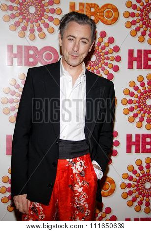 WEST HOLLYWOOD, CALIFORNIA - September 18, 2011. Alan Cummings at the HBO's 2011 Emmy After Party held at the Pacific Design Center, Los Angeles.
