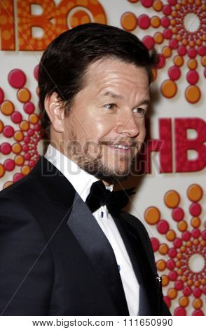 Mark Wahlberg at the HBO's 2011 Emmy After Party held at the Pacific Design Center in West Hollywood, California, United States on September 18, 2011.