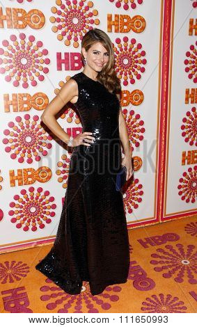 WEST HOLLYWOOD, CALIFORNIA - September 18, 2011. Maria Menounos at the HBO's 2011 Emmy After Party held at the Pacific Design Center, Los Angeles.