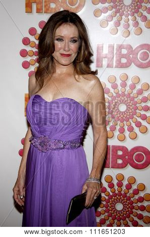 Mary McDonnell at the HBO's 2011 Emmy After Party held at the Pacific Design Center in West Hollywood, California, United States on September 18, 2011.