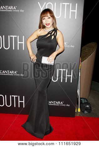 Sumi Jo at the Los Angeles premiere of 'Youth' held at the DGA Theatre in Hollywood, USA on November 17, 2015.
