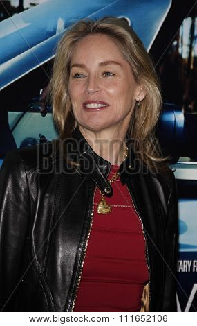 Sharon Stone at the Los Angeles Premiere of