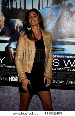 Cindy Crawford at the Los Angeles Premiere of