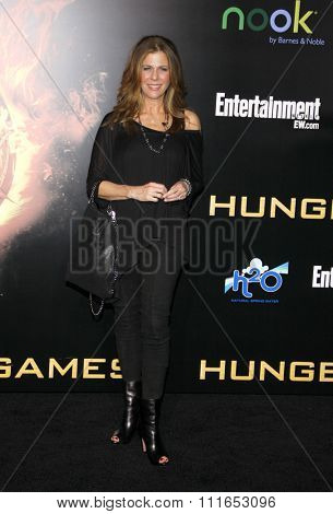 LOS ANGELES, CALIFORNIA - March 12, 2012. Rita Wilson at the Los Angeles premiere of