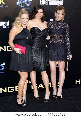 LOS ANGELES, CALIFORNIA - March 12, 2012. Miranda Lambert at the Los Angeles premiere of