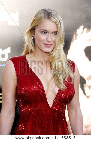 Leven Rambin at the Los Angeles Premiere of