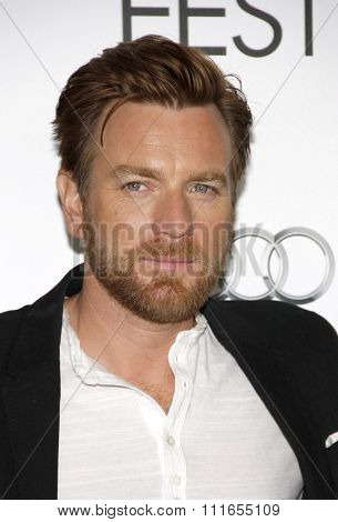 Ewan McGregor at the 2012 AFI Fest screening of