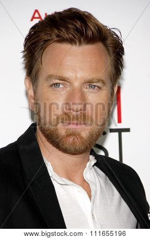 Ewan McGregor at the 2012 AFI Fes Special Screening of