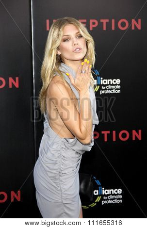 AnnaLynne McCord at the Los Angeles Premiere of