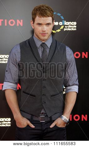 Kellan Lutz at the Los Angeles Premiere of