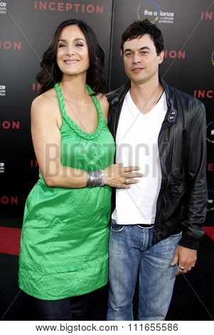 Carrie-Anne Moss at the Los Angeles Premiere of