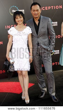 Ken Watanabe at the Los Angeles Premiere of