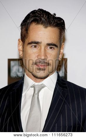 Colin Farrell at the 7th Annual