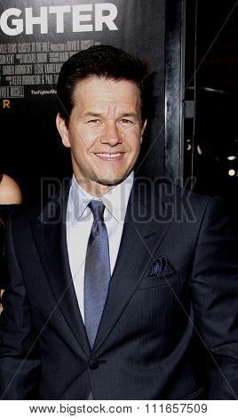 HOLLYWOOD, CALIFORNIA - December 6, 2010. Mark Wahlberg at the Los Angeles premiere of